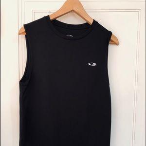 Champion muscle /tank shirt small black